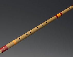 3D model Indian Bamboo Flute