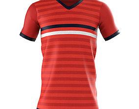3D model Soccer Jersey Shirt Top