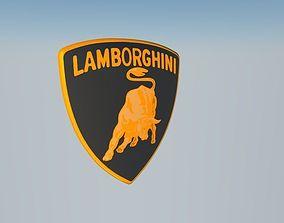 3D model Lamborghini Badge