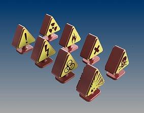 3D print model DESKTOP ACCESSORIES TRAFFIC SIGNS
