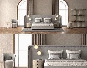 3D model Frato interiors bedroom set