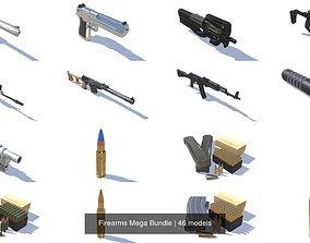 3D PBR Firearms Mega Bundle