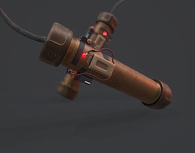 Custom Grenade - Models and Textures Low-poly realtime