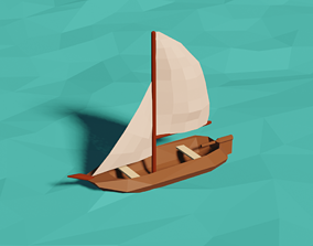 3D printable model Small Boat
