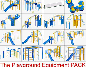 3D The Playground Equipment PACK