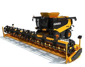Claas Lexion Combine Harvester 3D
