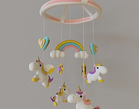 3D Unicorn - Pegasus - Baby Mobile Toy