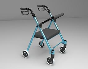 3D Four Wheeled Walker