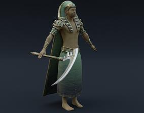 Character God Osiris 3D model