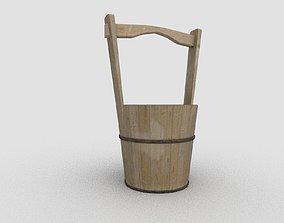 3D model Japanese Pail Bucket