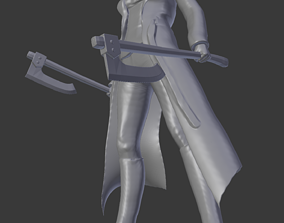 The Widow 3D print model