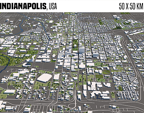 Indianapolis 3D model