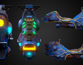 3D Sci-fi bike