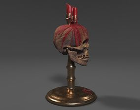 Gothic - horror Candles 3D model