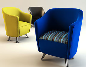 Solace tub chairs 3D model