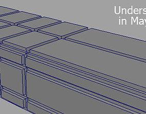 Sample scene for interior lighting 3D model