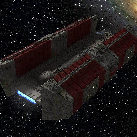Star Wars BFF-1 Freighter #3