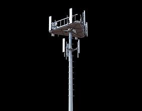 Telecommunication Tower 3D model telecom