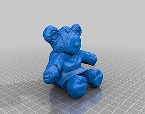 3D print model Persimmon the Teddy Bear