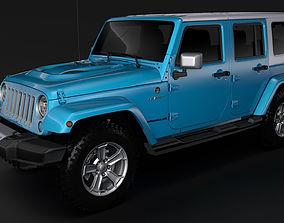 Jeep Wrangler Unlimited Chief JK 2017 3D model