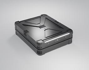 Sci-Fi Crate v6 3D model