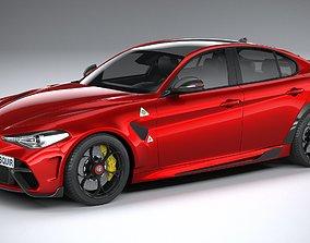 3D Alfa Romeo Giulia GTA 2021