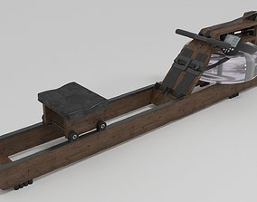WaterRower Classic with S4 Performance Monitor 3D