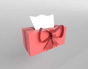 Present Tissue Box v1 004 3D asset