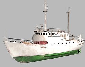 3D Old Vessel dock