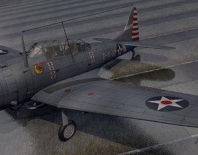 3D model Douglas SBD-3 Dauntless
