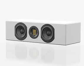 Adam Audio ARTist 6H Gloss White 3D model