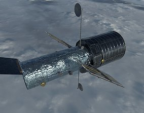 3D asset Hubble Space Telescope
