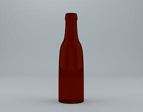 Bottle of Beer 3D asset