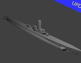 3D print model US Gato Class Submarine