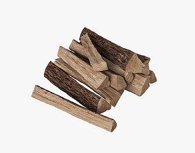 3D firewood Firewood logs