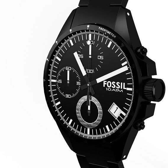 10ATM FOSSIL WATCH