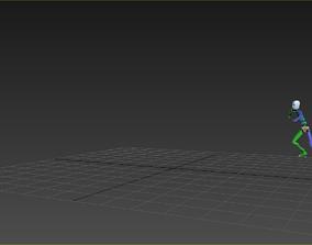 parkour jump 4 3D model