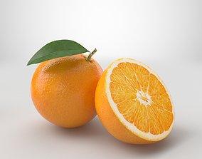 citrus Orange 3D model