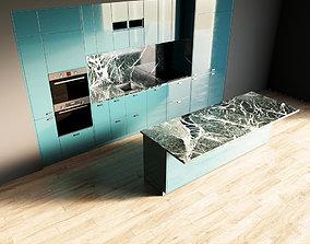 44-Kitchen8 glossy 4 3D