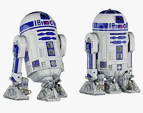 R2-D2 Star Wars Droid 3D model