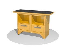 Carpenters bench 3D model