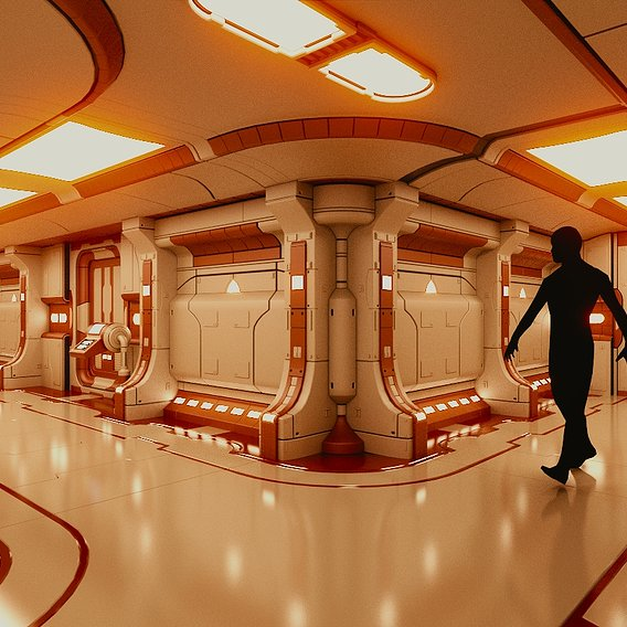 Polyguardian Cruiser Corridor