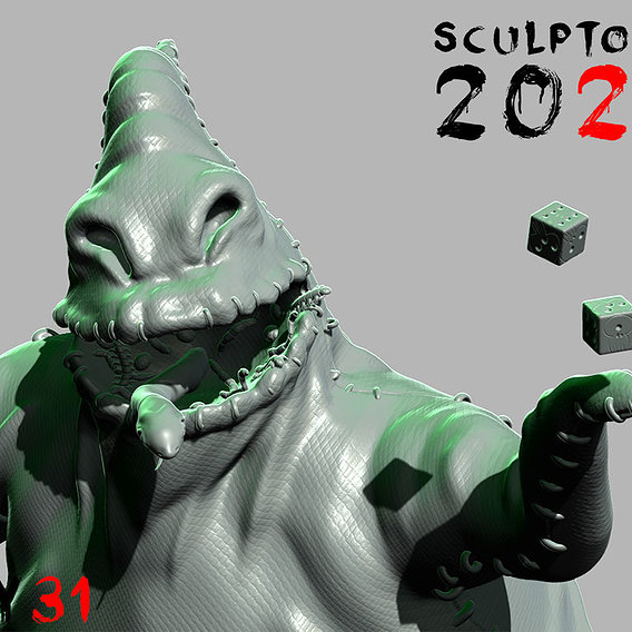 Sculptober Day 31 Villan