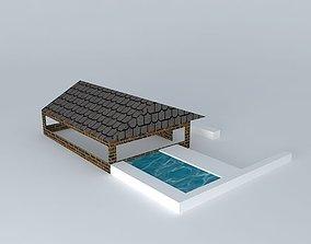 3D Simple house simple house