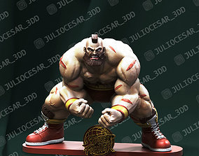 3D printable model Street fighter - Zangief