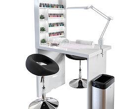 3D model Manicure table