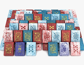 collection 3D model Playing Card Soap Collection