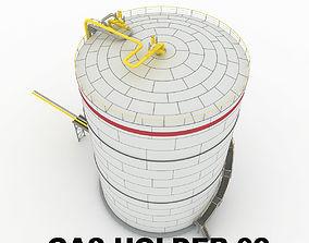 3D model Gas holder 02