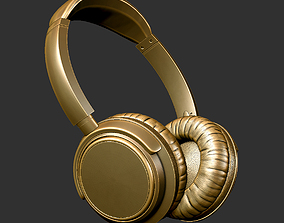 headphones 3D printable model