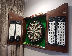 3D printable model Darts scoreboard for Killer and 301
